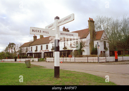 The Two Brewers Public House, Chipperfield, Hertfordshire - Stock Image