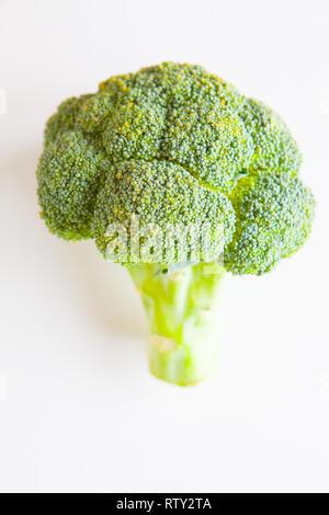 Fresh vegetables, green broccoli - Stock Image