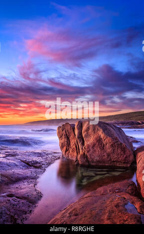 Cape Leeuwin, Augusta, Western Australia - Stock Image