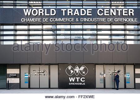 Chambre de Commerce et d'Industrie de Grenoble - Grenoble World Trade Center - Stock Image