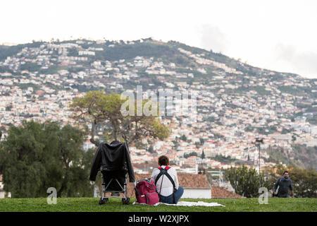 Portugal, Madeira Island, Funchal, Santa Catarina Park - Stock Image