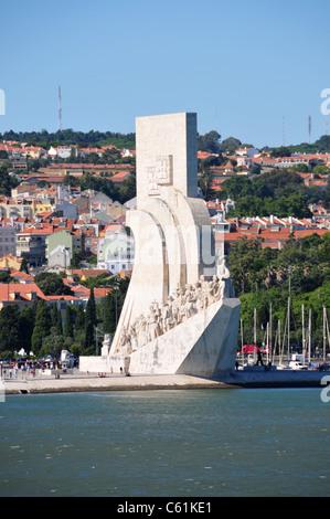 Navigators Monument, Belem, Lisbon, Portugal - Stock Image