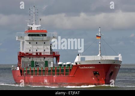 General cargo vessel TransAndromeda - Stock Image