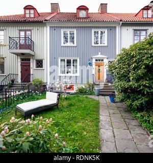 Front garden - Stock Image