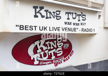 King Tuts Wah Wah Hut music venue, Glasgow, Scotland, UK - Stock Image