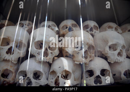 Choeung Ek Genocidal Center Killing Fields Of Pol Pot, Phnom Penh, Cambodge - Stock Image