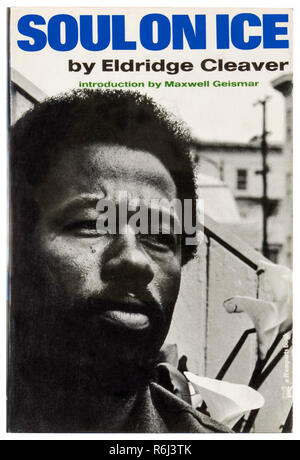 Front cover of 'Soul on Ice' by Eldridge Cleaver by (1935-1998), first edition hardback published in 1968. See more information below. - Stock Image