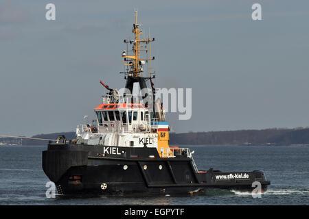 Tugboat Kiel - Stock Image