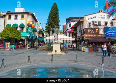 Bazaar area, Antalya, Turkey, Eurasia - Stock Image