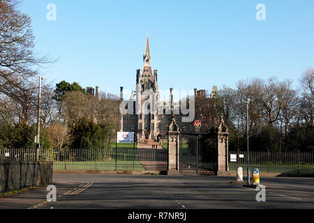 Fettes College, an independent private school in Edinburgh, Scotland - Stock Image
