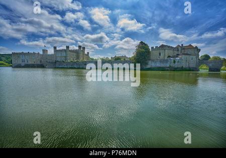 leeds castle - Stock Image