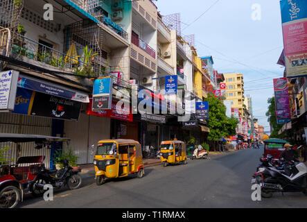 Street 172, Phnom Penh, Cambodia, Asia - Stock Image