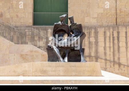 Valletta Gate - Stock Image