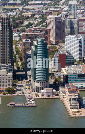 Exchange Place Center in Jersey City - Stock Image