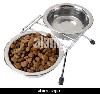 Dry pet food - Stock Image
