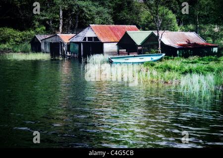 boathouse - Stock Image