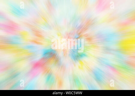 Colorful rays of light background or rainbow line texture abstract - Stock Image