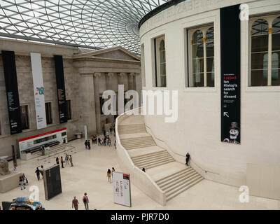 The Great Court of the British Museum - Stock Image