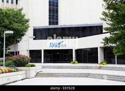 Reynold's American (parent company of R.J. Reynolds Tobacco Company) headquarter in Winston-Salem, North, Carolina. - Stock Image