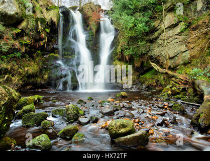 Valley of Desolation Lower Fall - Stock Image