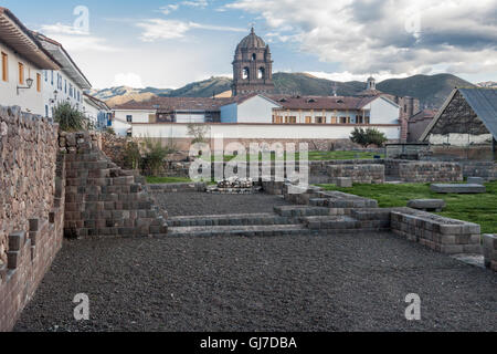 Typical Historical Buildings Cusco, Peru - Stock Image
