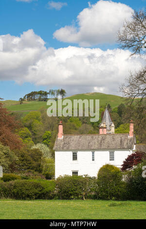 The village of Moniaive, Dumfries and Galloway, Scotland, UK - Stock Image