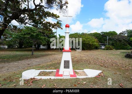 Quetta shipwreck memorial at the Anglican Church of Australia, Thursday Island, Torres Strait Islands, Far North Queensland, FNQ, QLD, Australia - Stock Image