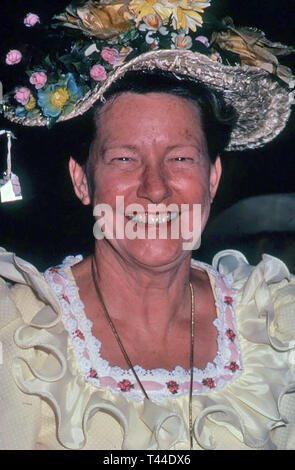 MINNIE PEARL (1912-1996) American Country singer and comedian about 1966 - Stock Image