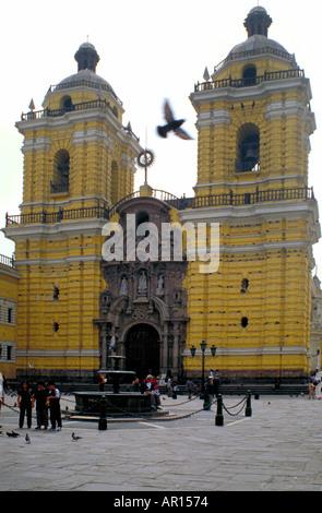 San Francisco Church, Lima, Peru - Stock Image