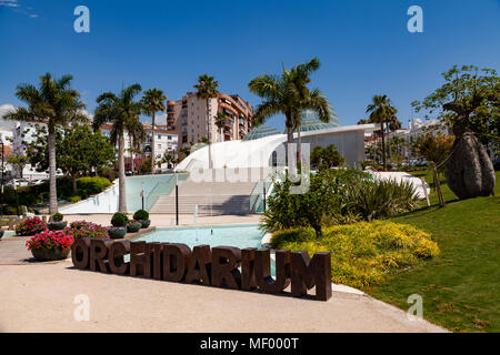 The Orchidarium, Estepona, Malaga, Spain - Stock Image