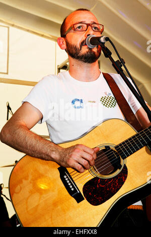 Adem live at Field Day festival in Victoria Park London. - Stock Image