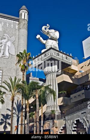 Kodak Hollywood & Highland Center, national, regional and local retail tenants,  variety of restaurants, American - Stock Image