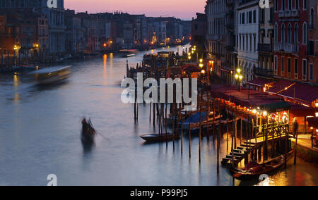 Evening in Venice - Stock Image