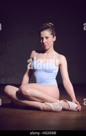 Beautiful Ballet dancer - Stock Image