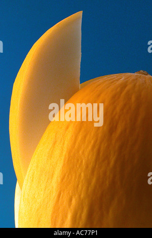 Cut melon - Stock Image