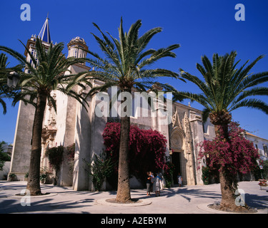 Spain Province Cadiz Costa de la Luz Chipiona church - Stock Image