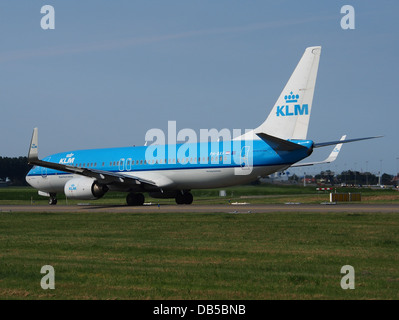 PH-BXF KLM Royal Dutch Airlines Boeing 737-8K2(WL) - cn 29596 5 - Stock Image