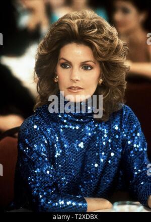 PRISCILLA PRESLEY, DALLAS, 1983 - Stock Image