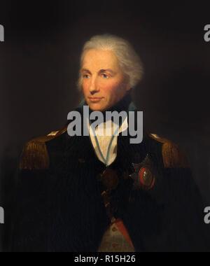 Horatio, Lord Nelson, Portrait, Lemuel Francis Abbott, 1798-1803, Lady Lever Art Gallery, Port Sunlight, Liverpool, England, UK, Europe - Stock Image