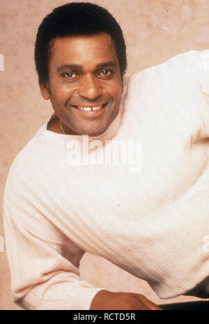 CHARLIE PRIDE Promotional photo of US singer about 1972 - Stock Image