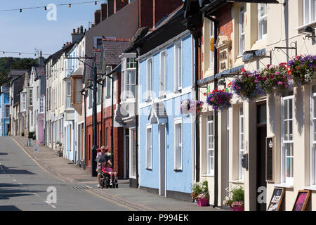 Church Street, Beaumaris, Anglesey, Wales - Stock Image