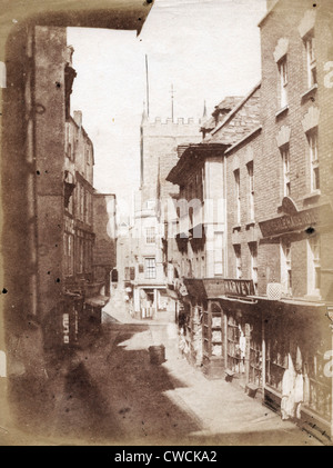 Street Scene, Bristol, ca 1854, by Hugh Owen - Stock Image