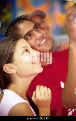 Miami Beach Florida Community Center teens youth club activities - Stock Image