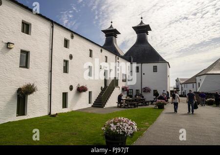 Ardbeg Scotch Whisky Distillery, Islay, Scotland - Stock Image