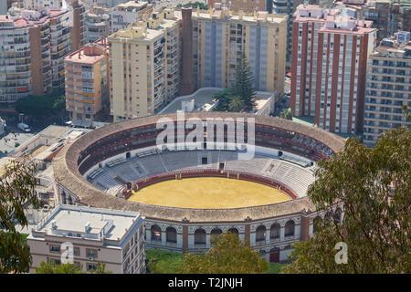 La Malagueta Bullring. Málaga, Andalusia. Spain. - Stock Image