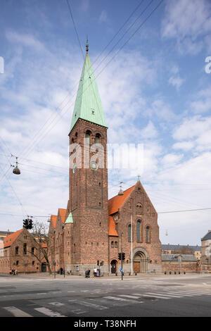 St. Andrew's Church (Skt. Andreas Kirke), Copenhagen, Denmark - Stock Image