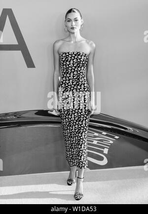 New York, NY - June 03, 2019: Grace Elizabeth attends 2019 CFDA Fashion Awards at Brooklyn Museum - Stock Image