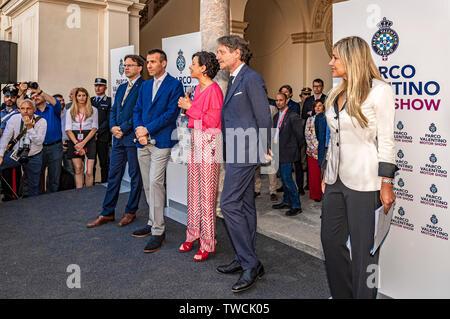 Piedmont Turin - Turin auto show 2019  - Valentino park - Valentino castle - Assessore Paola Pisano - Stock Image