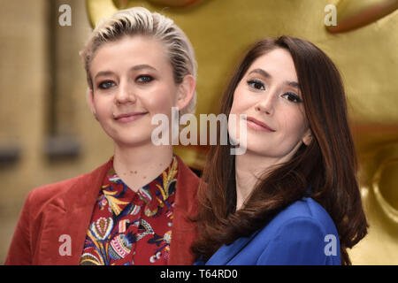 LONDON, UK. April 28, 2019: Ellen Robertson & Charly Clive at the BAFTA Craft Awards 2019, The Brewery, London. Picture: Steve Vas/Featureflash - Stock Image