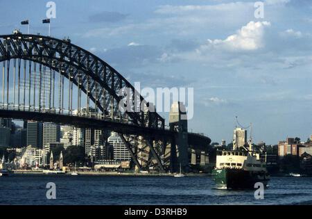 Sydney Harbor Bridge, Australia AUS - Stock Image